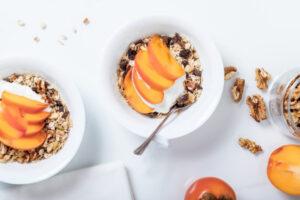 La colazione prima di correre.