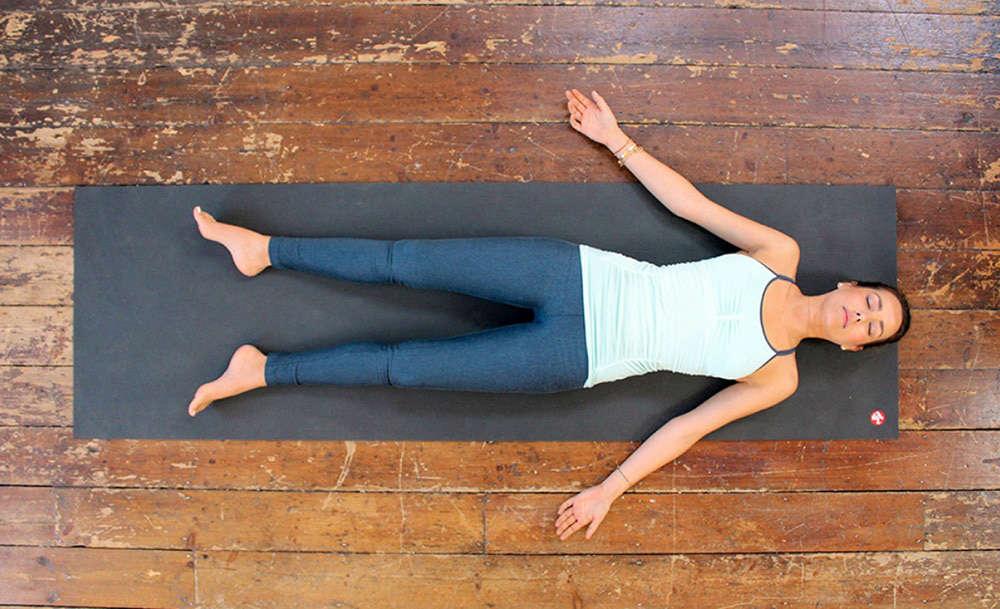 rilassamento finale yoga