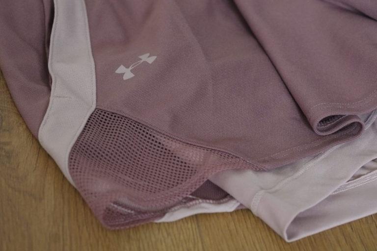 dettaglio shorts under armour