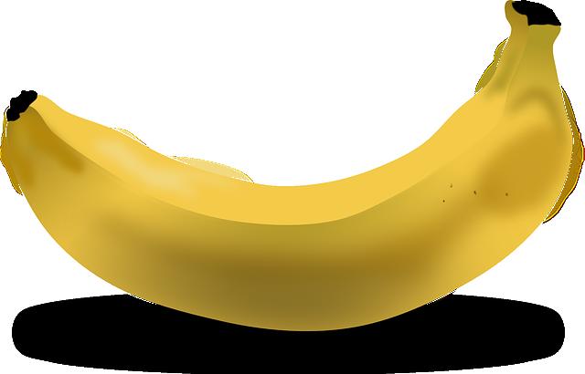 banana prima di correre